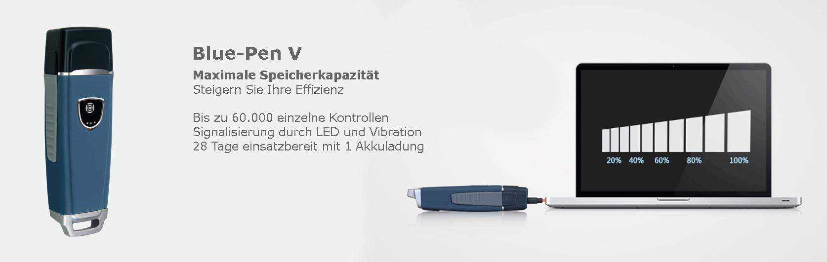 Blue-Pen V Wächterkontrollsystem