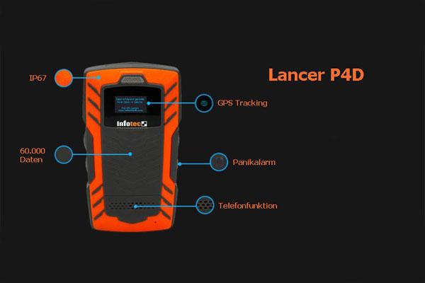 Wächterkontrollsystem Lancer P4 Funktionsübersicht