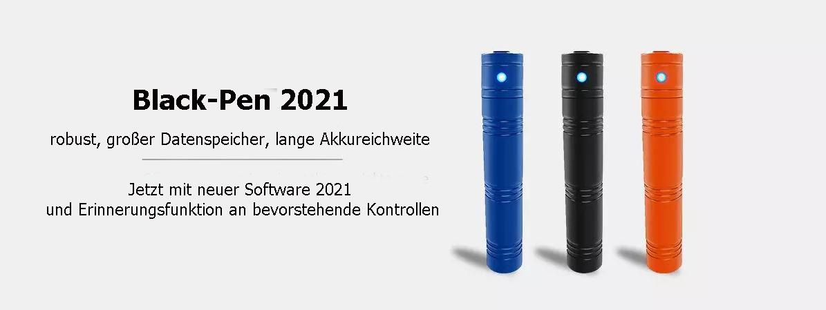 Wächterkontrollsystem Black-Pen 2021